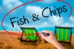 Fish & Chips located by Surf Club and main beach